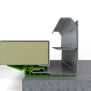 THERMALsafe panel weatherseal with compression seal_placed on the vertical angle & THERMALSAFE endcap_FR-1