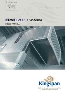 PalDuct PIR Datasheet ESP 09 16